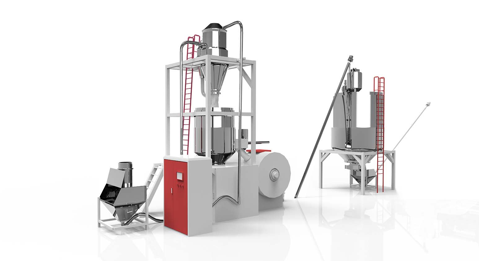 SPC Parallel Twin Screw Production Line